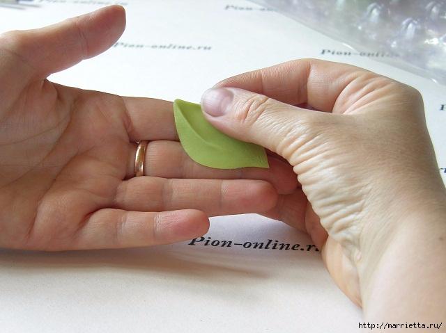Орхидея Леди Слиппер из полимерной глины61) (640x479, 161Kb)