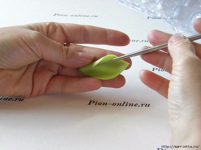 Орхидея Леди Слиппер из полимерной глины63) (640x479, 155Kb)