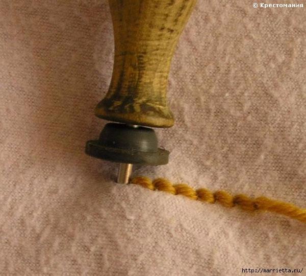 Вышивка ковровой техникой