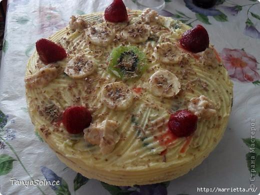 Любимый тортик с консервированными ананасами (8) (520x390, 146Kb)