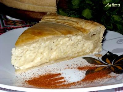 Пирог с плавленными сырками (1) (400x300, 138Kb)