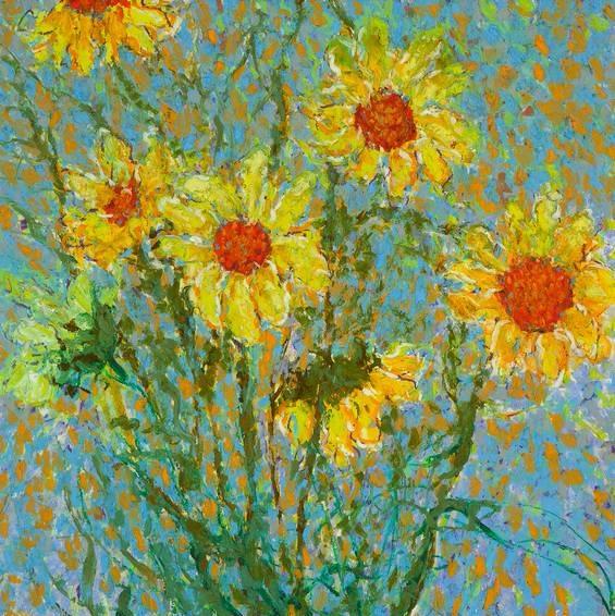 Sunflowers (565x566, 469Kb)