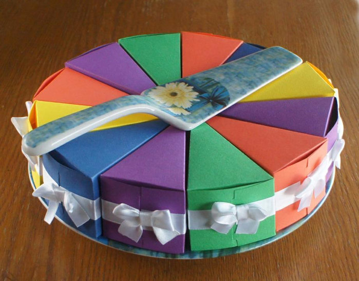Делаем коробку для торта своими руками