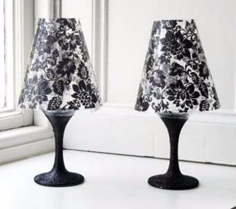 black glitter wineglasses (342x304, 56Kb)