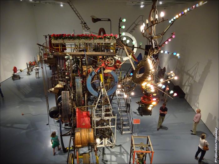 Дюссельдорф, на выставке в музее Кунстпаласт