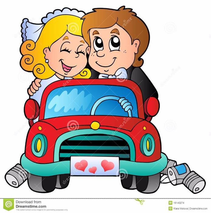 car-wedding-couple-19140274 (695x700, 378Kb)