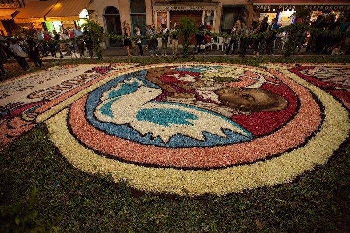 цветочный ковер Infiorata 8 (700x466, 439Kb)