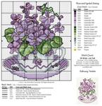 Превью схема вышивки цветы (8) (678x700, 455Kb)