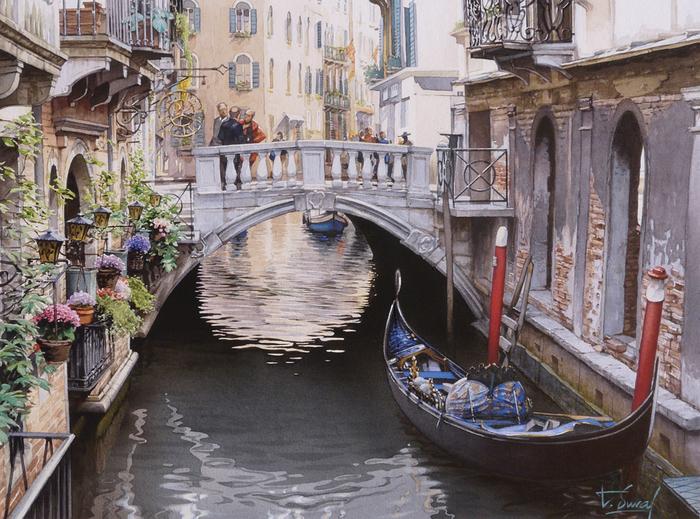 4. Венецианские улочки (700x519, 569Kb)
