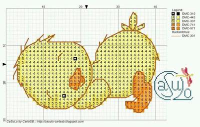 Малыши утята. Детская вышивка крестом (2) (400x255, 130Kb)