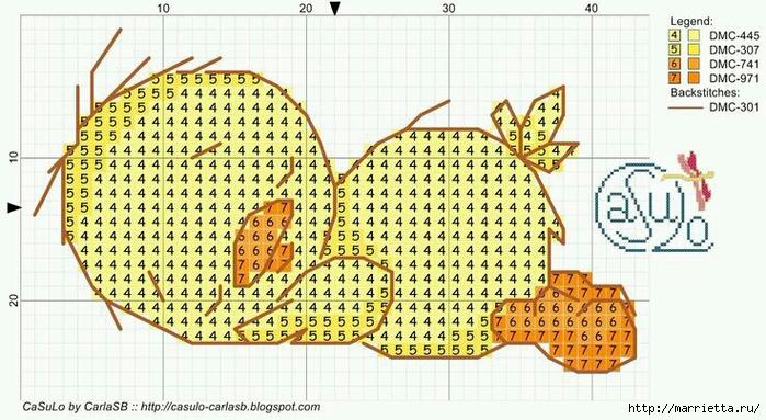 Малыши утята. Детская вышивка крестом (9) (700x383, 253Kb)