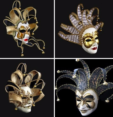 Как сделать карнавальную венецианскую маску Джокер (4) (482x500, 198Kb)