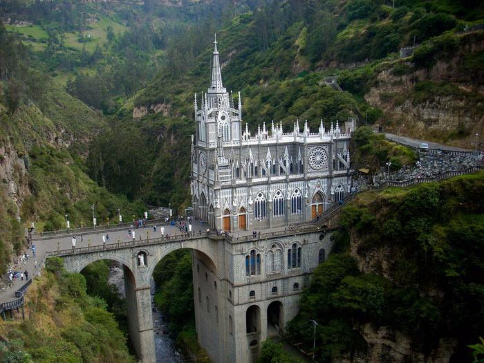 собор лас лахас в колумбии 2 (700x525, 551Kb)
