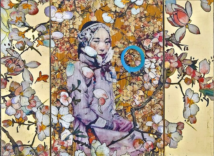 Untitled (100 Flowers or Mountain Lady)  2012  Courtesy of Nancy Hoffman Gallery, New York (700x509, 197Kb)