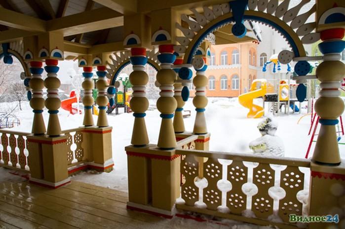 «Замок детства»: посмотрите, какой чудесный садик построили в Подмосковье!