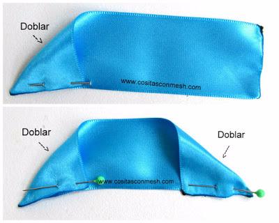 Бантики из лент - аксессуары для волос своими руками (3) (400x320, 120Kb)
