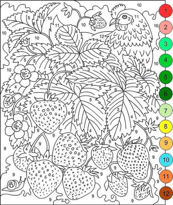 Раскраски для детей 5-7 лет распечатать для
