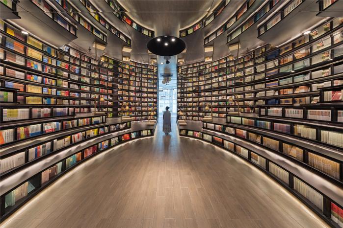 книжный магазин  Hangzhou Zhongshuge 1 (700x466, 493Kb)