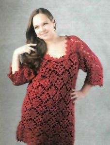 вязание крючком платье 54,52,56 размера/3881693_krasn_plate (227x299, 12Kb)
