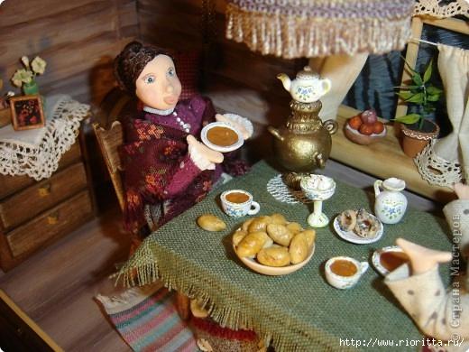 Посуда для кукол своими руками из солёного теста
