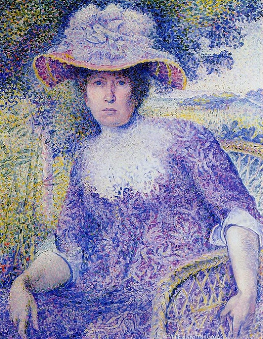 Portrait of Madame Cross (543x700, 631Kb)