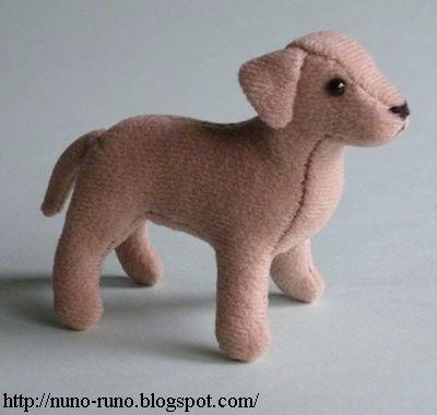 Шьем собачку - Далматина. Выкройка и мк (17) (400x380, 79Kb)
