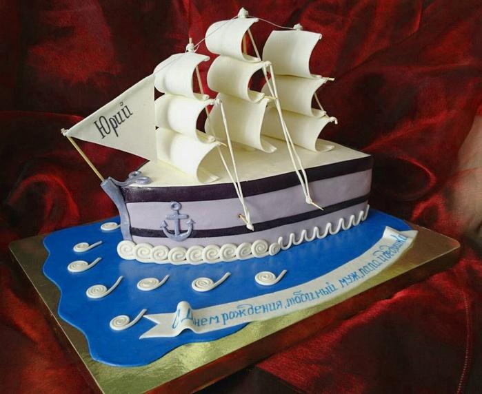 торт корабль+ (700x572, 272Kb)