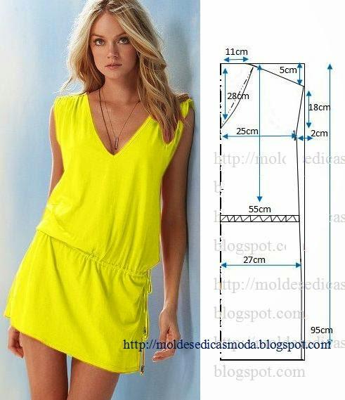 Vestido-casual (491x569, 50Kb)