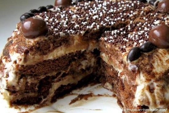 Рецепт без выпечки. Пряничный торт (550x368, 159Kb)