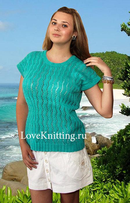 03-Автор-Бирюзовый-пуловер-МТ2 (448x700, 111Kb)