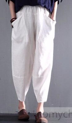Loose_summer_linen_pants_plus_size_in_white1 (233x398, 56Kb)
