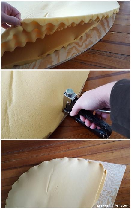 Мягкое изголовье кровати своими руками из коврика-мандалы (26) (437x700, 214Kb)