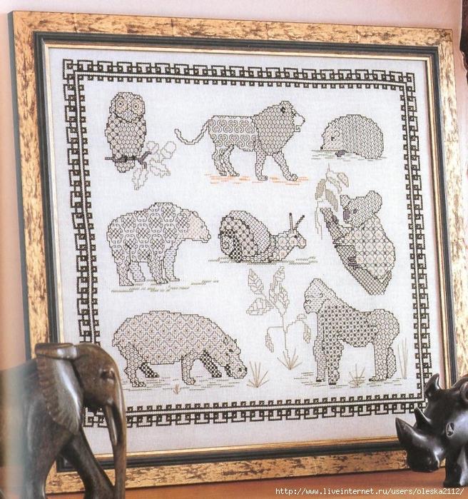 дикие животные (656x700, 450Kb)