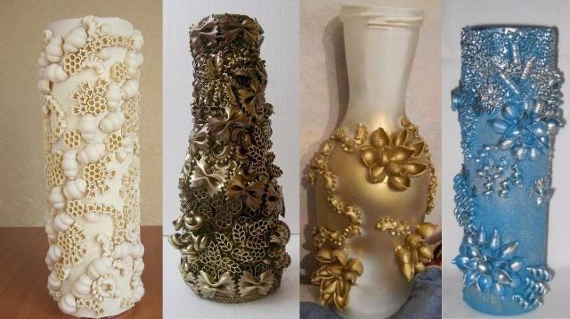 Поделки и своими руками ваза