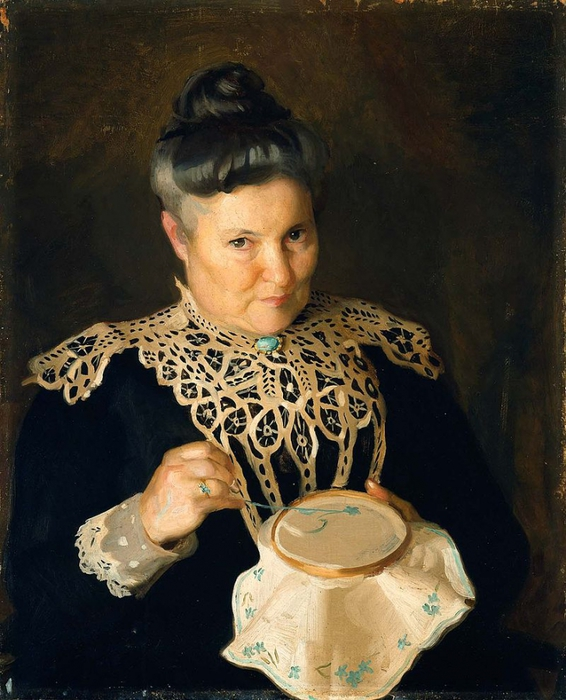 5229398_William_McGregor_Paxton_Portrait_of_the_Artists_Mother_Rose_Paxton_1902 (566x700, 290Kb)