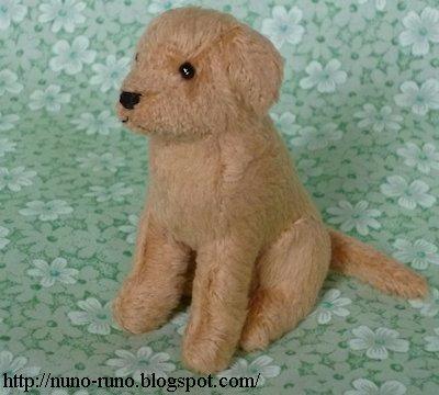 Голден Ретривер. Шьем собачку из меха (2) (400x360, 120Kb)