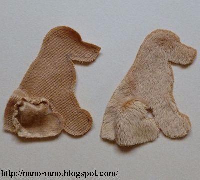 Голден Ретривер. Шьем собачку из меха (4) (400x360, 92Kb)
