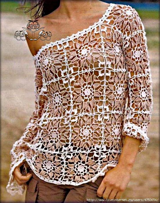 Crochet-Sweater-free-pattern-Women A9 (551x700, 413Kb)