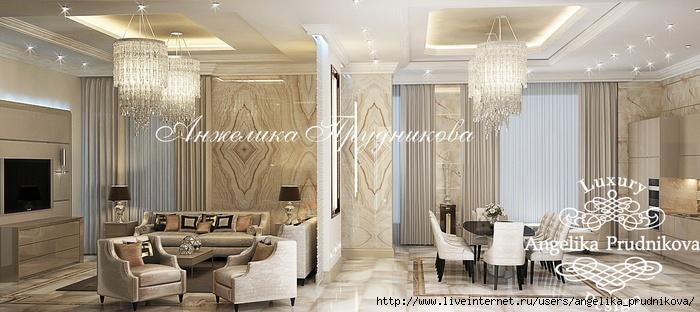 Дизайн квартиры в стиле неоклассика в ЖК Садовые кварталы /5994043_02_interergostinoyistolovoyvstileneoklassika (700x312, 170Kb)