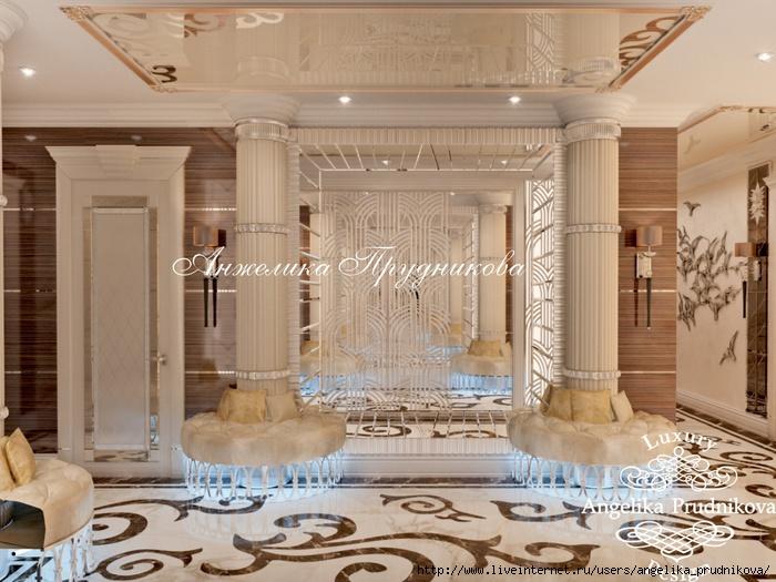 Дизайн квартиры в стиле Ар-деко в ЖК Долина Сетунь/5994043_15_kholl (700x525, 241Kb)