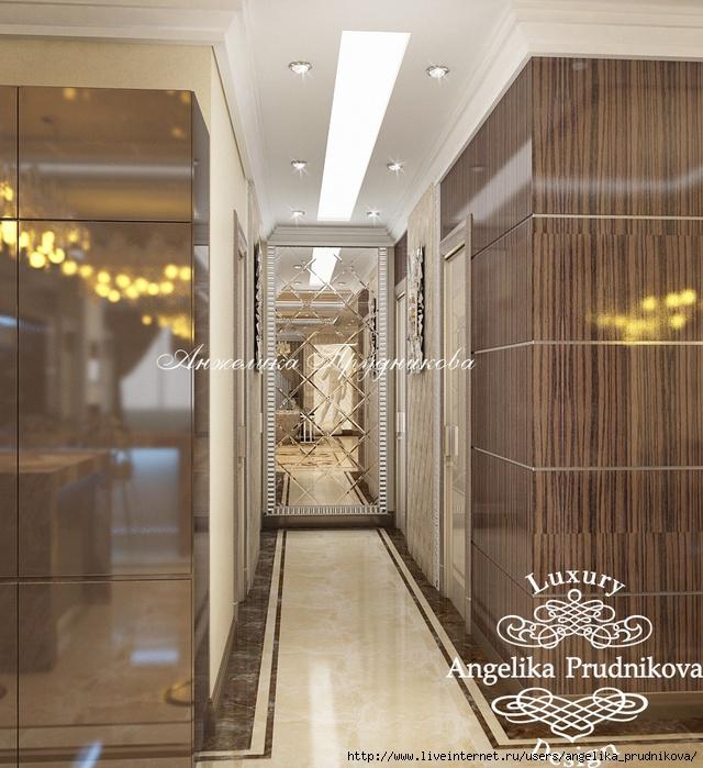 Дизайн квартиры в стиле модерн в ЖК Корона /5994043_4_1_kholl (640x700, 280Kb)