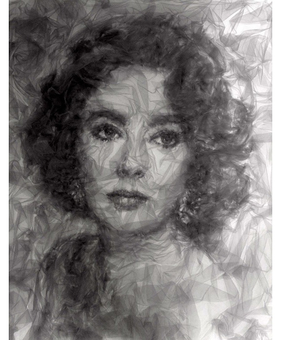 картины тюлем художник Бенджамин Шайн 6 (577x700, 279Kb)