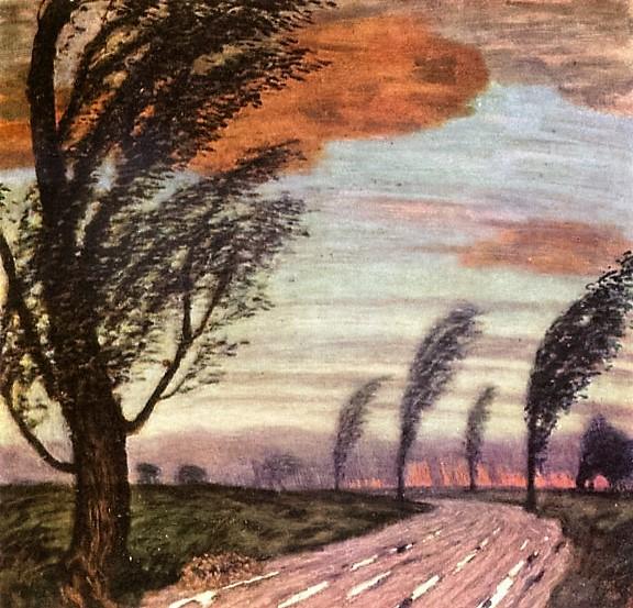 Landscape with storm   ок. 1920 (576x553, 151Kb)
