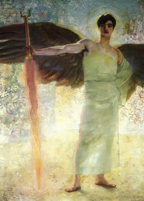 Страж Рая    1889 (499x700, 135Kb)