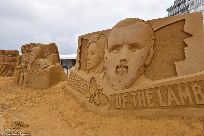 песочные скульптуры  8 (700x467, 315Kb)
