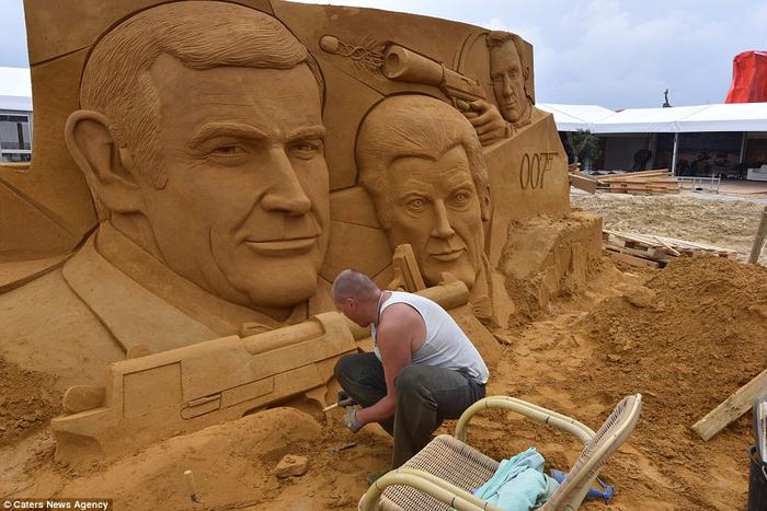 песочные скульптуры  10 (700x467, 380Kb)