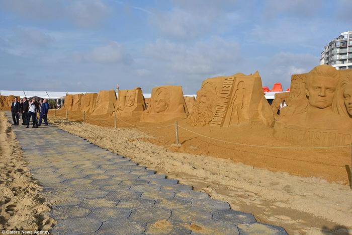 песочные скульптуры  12 (700x467, 348Kb)