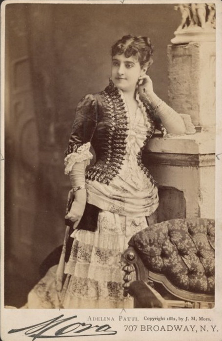 Adelina Patti, 1843-1919 (455x699, 103Kb)