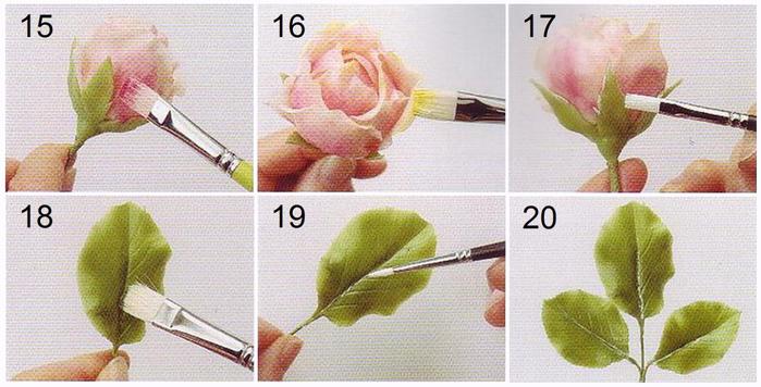 Холодный фарфор своими руками мастер класс цветы
