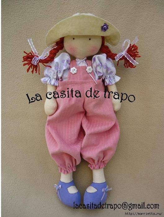 Выкройка куколки Аманды в шляпке (4) (528x700, 273Kb)